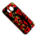 Red artistic design HTC Desire HD Hardshell Case  View5