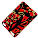 Red artistic design Kindle Touch 3G View4