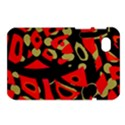 Red artistic design Samsung Galaxy Tab 7  P1000 Hardshell Case  View1