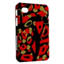 Red artistic design Samsung Galaxy Tab 7  P1000 Hardshell Case  View2