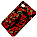 Red artistic design Samsung Galaxy Tab 7  P1000 Hardshell Case  View4