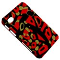 Red artistic design Samsung Galaxy Tab 7  P1000 Hardshell Case  View5