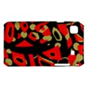 Red artistic design Samsung Galaxy S i9008 Hardshell Case View1
