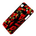 Red artistic design Samsung Galaxy S i9008 Hardshell Case View4