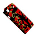 Red artistic design Samsung Galaxy S i9008 Hardshell Case View5