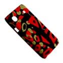 Red artistic design Samsung Galaxy SL i9003 Hardshell Case View5