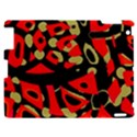 Red artistic design Apple iPad 2 Hardshell Case View1