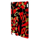 Red artistic design Apple iPad 2 Hardshell Case View3