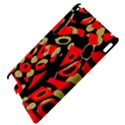 Red artistic design Apple iPad 2 Hardshell Case View4