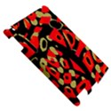 Red artistic design Apple iPad 2 Hardshell Case View5