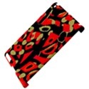 Red artistic design Apple iPad 2 Hardshell Case (Compatible with Smart Cover) View4
