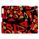 Red artistic design Apple iPad 3/4 Hardshell Case View1