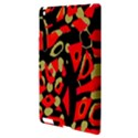Red artistic design Apple iPad 3/4 Hardshell Case View3