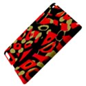 Red artistic design Apple iPad 3/4 Hardshell Case View4