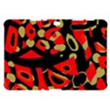Red artistic design Samsung Galaxy Tab 10.1  P7500 Hardshell Case  View1