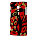 Red artistic design Sony Xperia ion View3