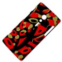 Red artistic design Sony Xperia ion View4