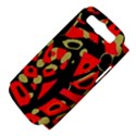 Red artistic design Samsung Galaxy S III Hardshell Case (PC+Silicone) View4