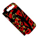 Red artistic design Samsung Galaxy S III Hardshell Case (PC+Silicone) View5
