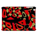Red artistic design Apple iPad Mini Hardshell Case View1