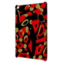 Red artistic design Apple iPad Mini Hardshell Case View3