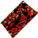 Red artistic design Apple iPad Mini Hardshell Case View4