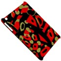 Red artistic design Apple iPad Mini Hardshell Case View5