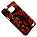 Red artistic design Samsung Galaxy S II i9100 Hardshell Case (PC+Silicone) View5
