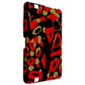 Red artistic design Kindle Fire HD 8.9  View2