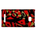 Red artistic design HTC 8X View1