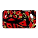 Red artistic design HTC Desire VC (T328D) Hardshell Case View1