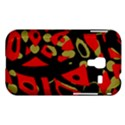 Red artistic design Samsung Galaxy Ace Plus S7500 Hardshell Case View1