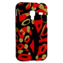 Red artistic design Samsung Galaxy Ace Plus S7500 Hardshell Case View2