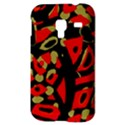 Red artistic design Samsung Galaxy Ace Plus S7500 Hardshell Case View3