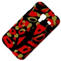 Red artistic design Samsung Galaxy Ace Plus S7500 Hardshell Case View4