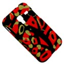 Red artistic design Samsung Galaxy Ace Plus S7500 Hardshell Case View5