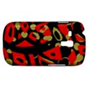 Red artistic design Samsung Galaxy S3 MINI I8190 Hardshell Case View1