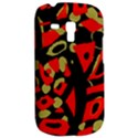 Red artistic design Samsung Galaxy S3 MINI I8190 Hardshell Case View2