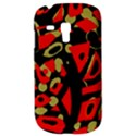 Red artistic design Samsung Galaxy S3 MINI I8190 Hardshell Case View3
