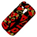 Red artistic design Samsung Galaxy S3 MINI I8190 Hardshell Case View4