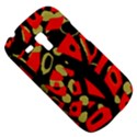 Red artistic design Samsung Galaxy S3 MINI I8190 Hardshell Case View5
