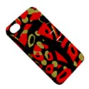Red artistic design Apple iPhone 4/4S Hardshell Case with Stand View5