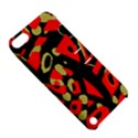Red artistic design Apple iPod Touch 5 Hardshell Case with Stand View5