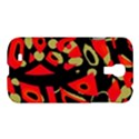 Red artistic design Samsung Galaxy S4 I9500/I9505 Hardshell Case View1
