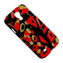 Red artistic design Samsung Galaxy S4 I9500/I9505 Hardshell Case View5