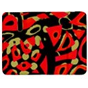 Red artistic design Samsung Galaxy Tab 7  P1000 Flip Case View1
