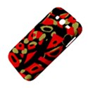 Red artistic design Samsung Galaxy Grand DUOS I9082 Hardshell Case View4