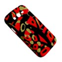 Red artistic design Samsung Galaxy Grand DUOS I9082 Hardshell Case View5