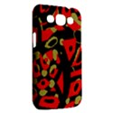 Red artistic design Samsung Galaxy Win I8550 Hardshell Case  View2