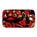 Red artistic design Samsung Galaxy Grand GT-I9128 Hardshell Case  View1